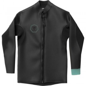 TOP VISSLA NORTH SEAS SMOOTHY FRONT ZIP