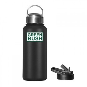 GREENBUSH FLASK BLACK
