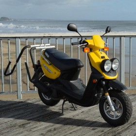 PORTE SURF POUR SCOOTER MOVED BY BIKE